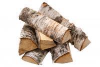 Дрова березовые колотые естественной влажности